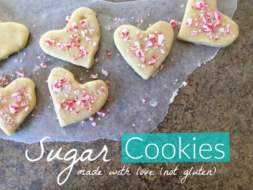 sugar cookies made with love not gluten