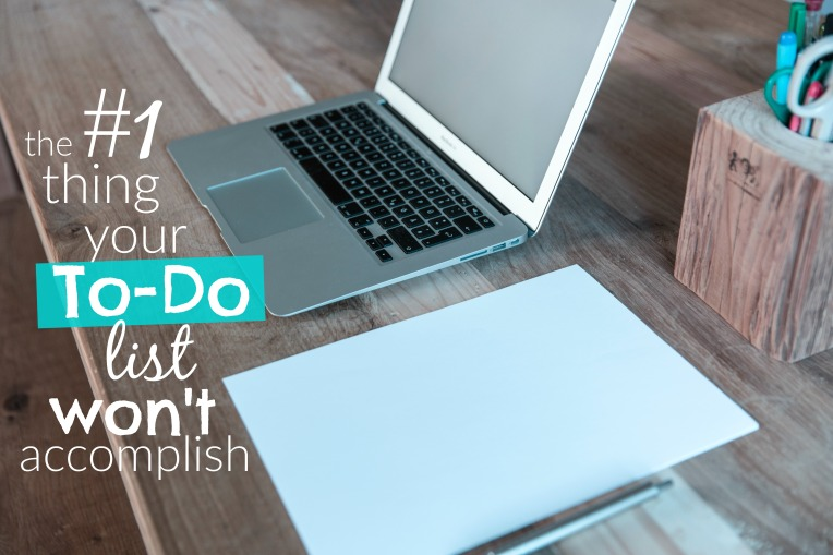 To-Do List Won't Accomplish
